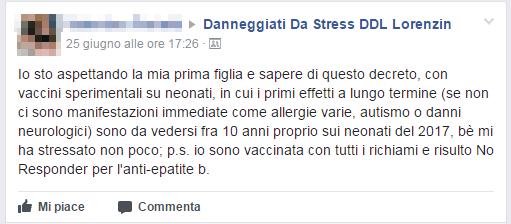 danneggiati da stress ddl lorenzin