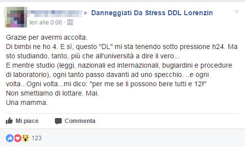 anneggiati da stress ddl lorenzin