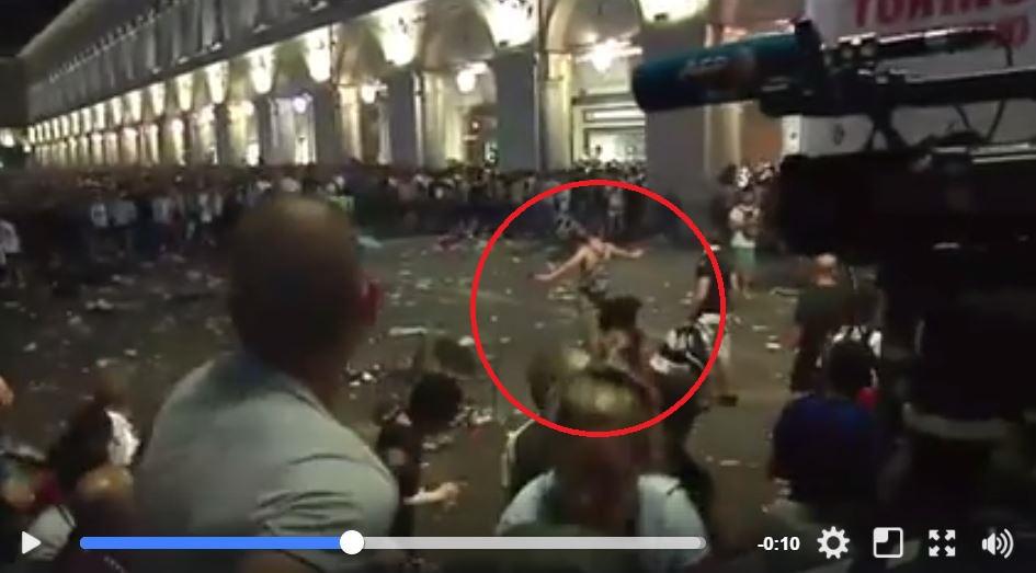 Panico a Torino, Appendino: