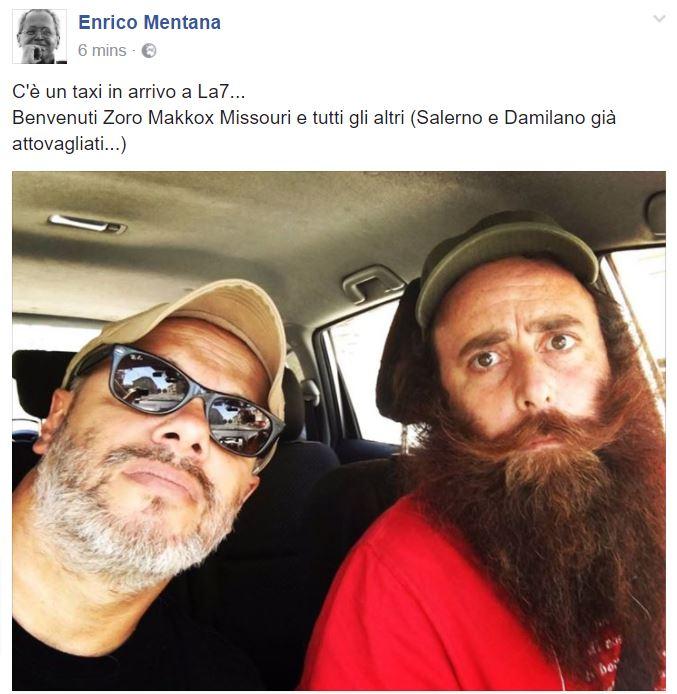 Gazebo passa a La 7: l'annuncio di Enrico Mentana su Facebook