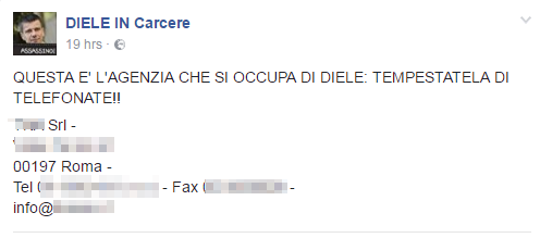 domenico diele facebook diele in carcere - 8