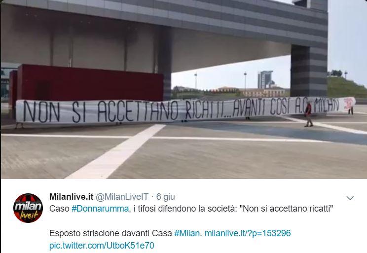 """Milan: Donnarumma non rinnova"""""""