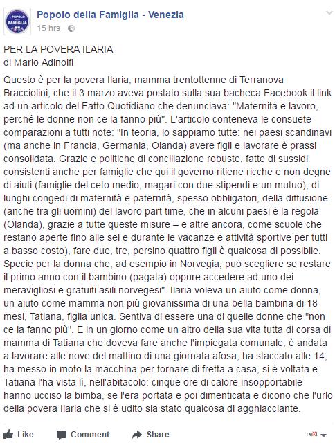 ilaria naldini bambina arezzo mamma facebook - 19