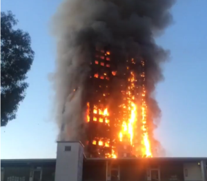 incendio grenfell tower londra - 2