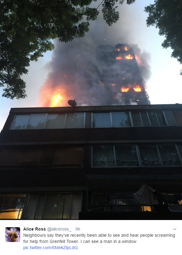 incendio grenfell tower londra - 3