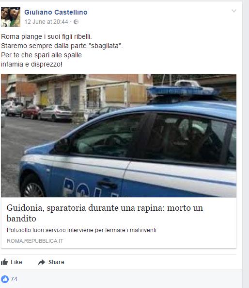 Ius Soli: saluti romani a sit-in Fn