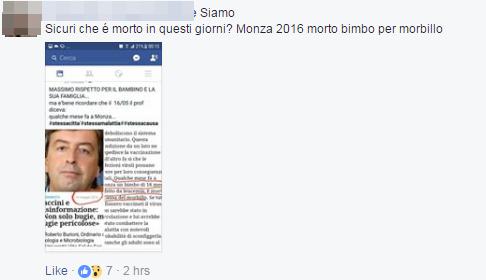 Monza: bimbo leucemico muore di morbillo, contagiato dai fratelli non vaccinati