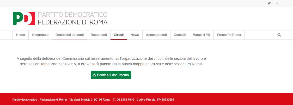 pd roma orfini circoli - 1
