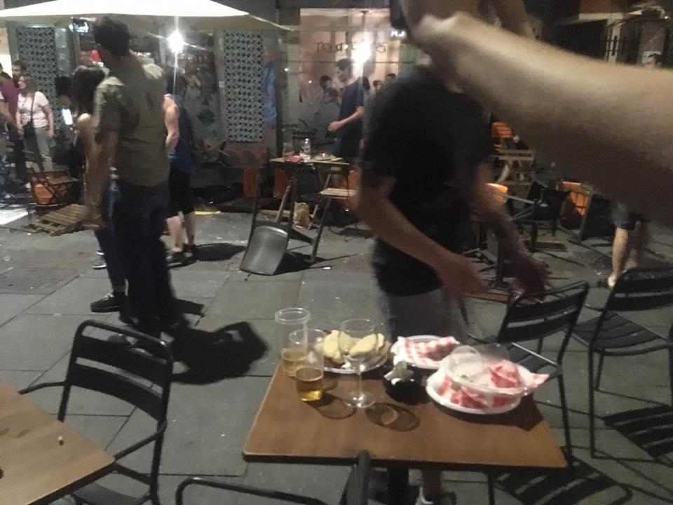 Ancora caos a Torino, scontri tra polizia e centri sociali