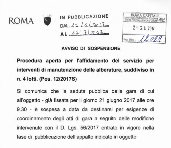 raggi bandi verde pubblico roma - 4