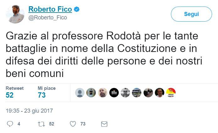 Ultimo saluto a Stefano Rodotà alla camera ardente a Montecitorio