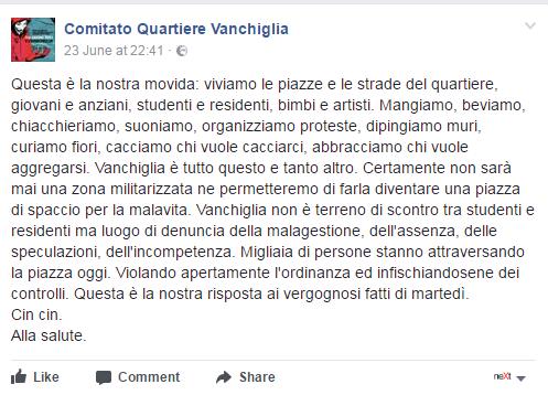 santa giulia appendino proibizionismo protesta - 3
