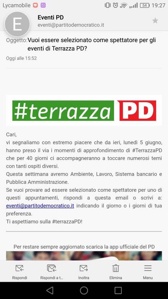 terrazzapd spettatori renzi bob app pd nazareno - 1