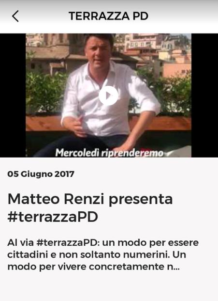 terrazzapd spettatori renzi bob app pd nazareno - 2