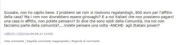 virginia raggi campi rom capolavoro - 5
