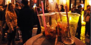alcool roma vietato