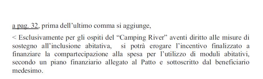 campi rom roma capitale raggi monachina barbuta river - 4