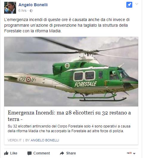 canadair elicotteri incendi madia riforma - 1