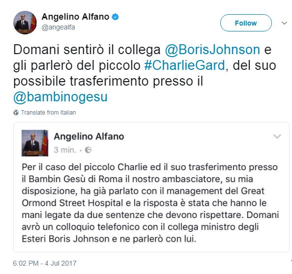 Vale la pena di ricordare che Alfano è avvocato ed è stato ministro della Giustizia