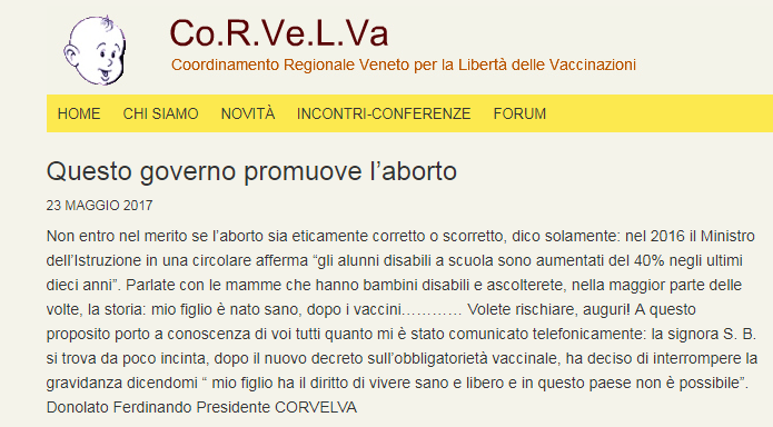 corvelva free vax decreto vaccini obbligatori - 3
