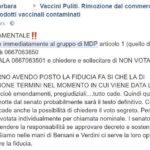 decreto vaccini fiducia mdp 1