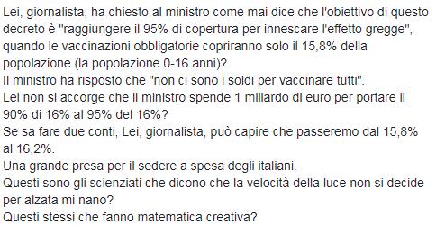 eleonora brigliadori mentana vaccini - 8