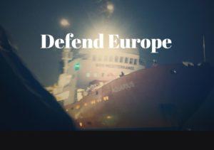 generazione identitaria defend europe c-star