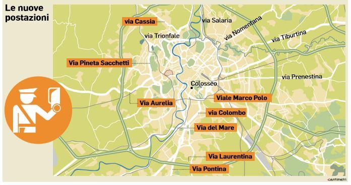 i nuovi autovelox a roma