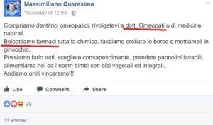 massimiliano quaresima consigliere XII Municipio