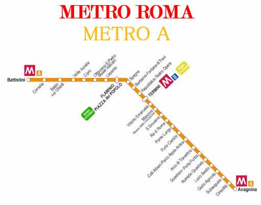 metro A interrotta 3 settembre 1