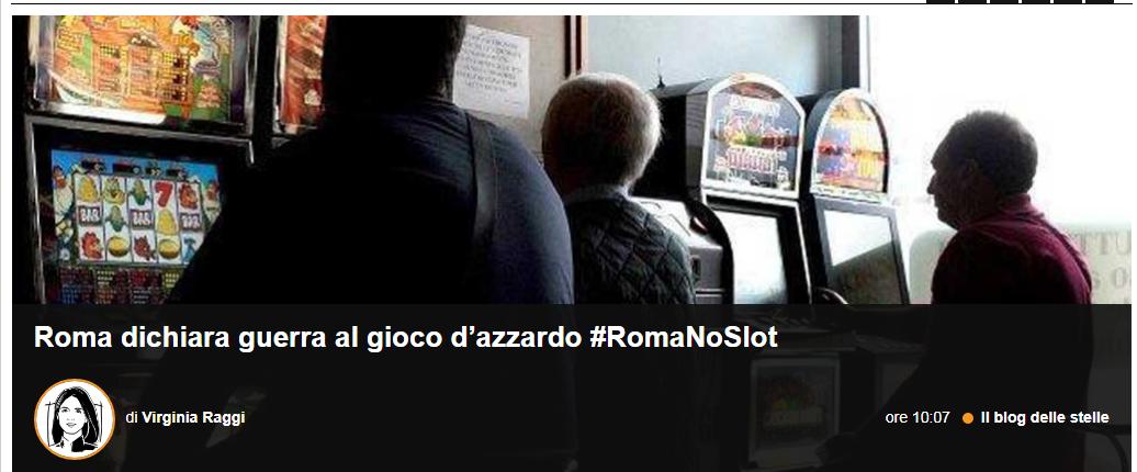 regolamento slot sale gioco roma - 1