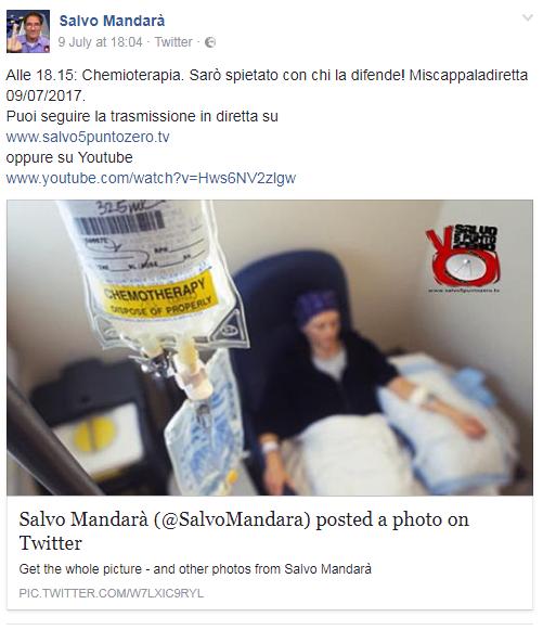 salvo mandarà cancro chemioterapia - 2