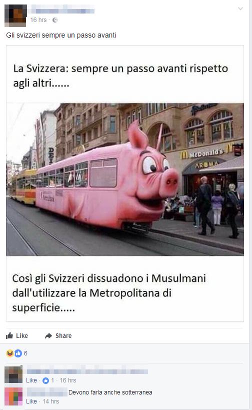 svizzera treno anti musulmani fake bufala - 3