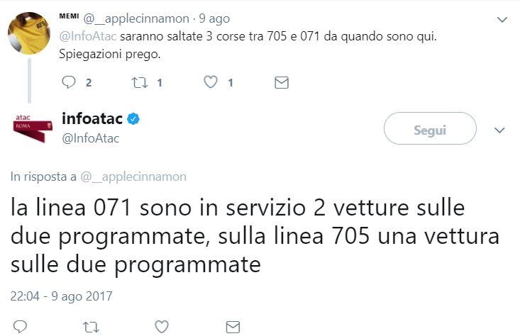 Atac di Roma multata dall'Antutrust per disservizi