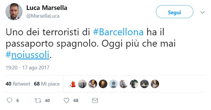 attentato barcellona marsella