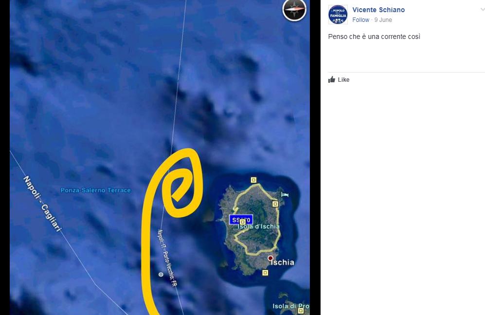 ischia cerchi nel mare terremoto - 4
