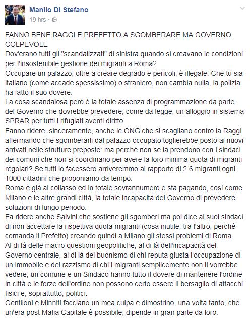 luigi di maio piazza indipendenza bombola gas - 2