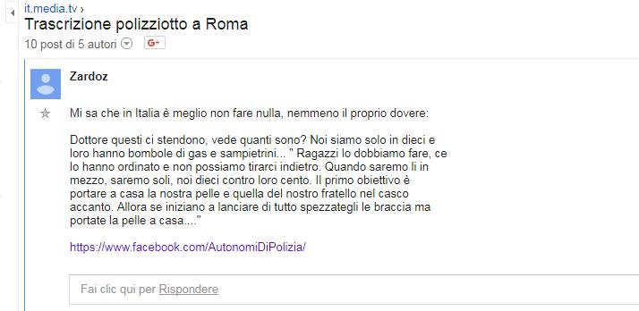 stefano esposito trascrizione dialogo roma migranti curtatone - 4