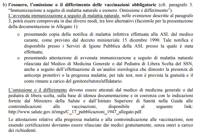 Bambini non vaccinati: Ministero della Salute vieta l'iscrizione a scuola