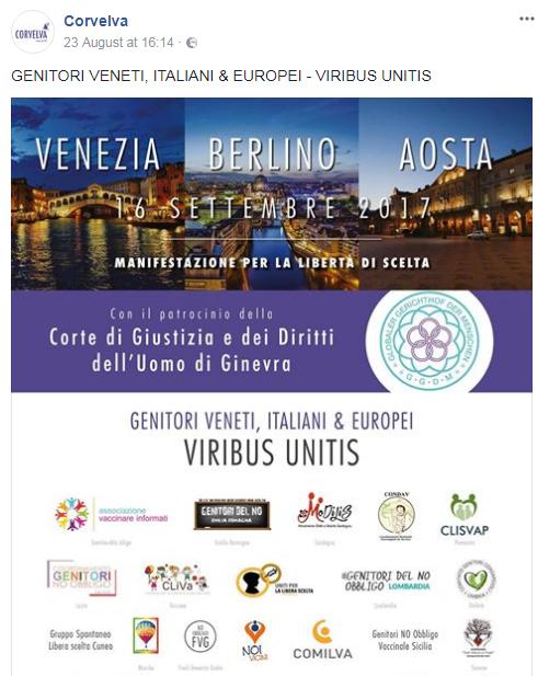 corvelva no vax venezia - 1