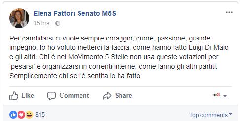 elena fattori m5s candidato premier di maio - 1