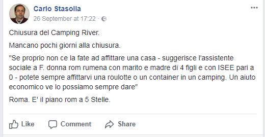 farsa chiusura camping river - 2