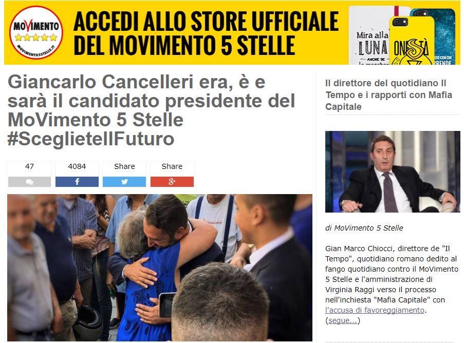 m5s sicilia giancarlo cancelleri