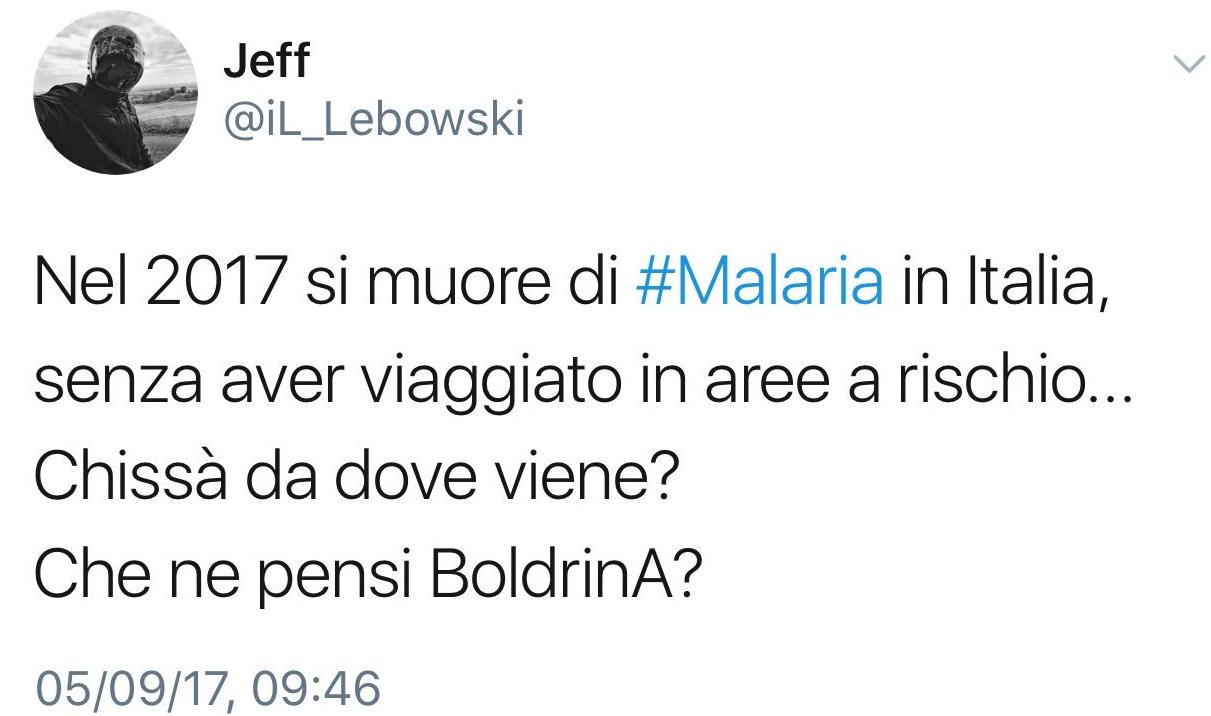 malaria bambina trento immigrati boldrini - 1