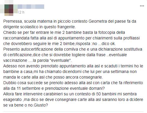 mamme no vax fedeli lorenzin - 11