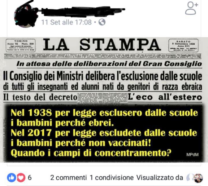 mamme no vax lorenzin - 1