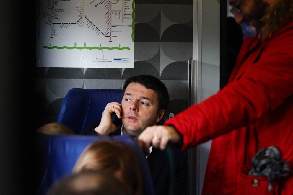matteo renzi treno 1