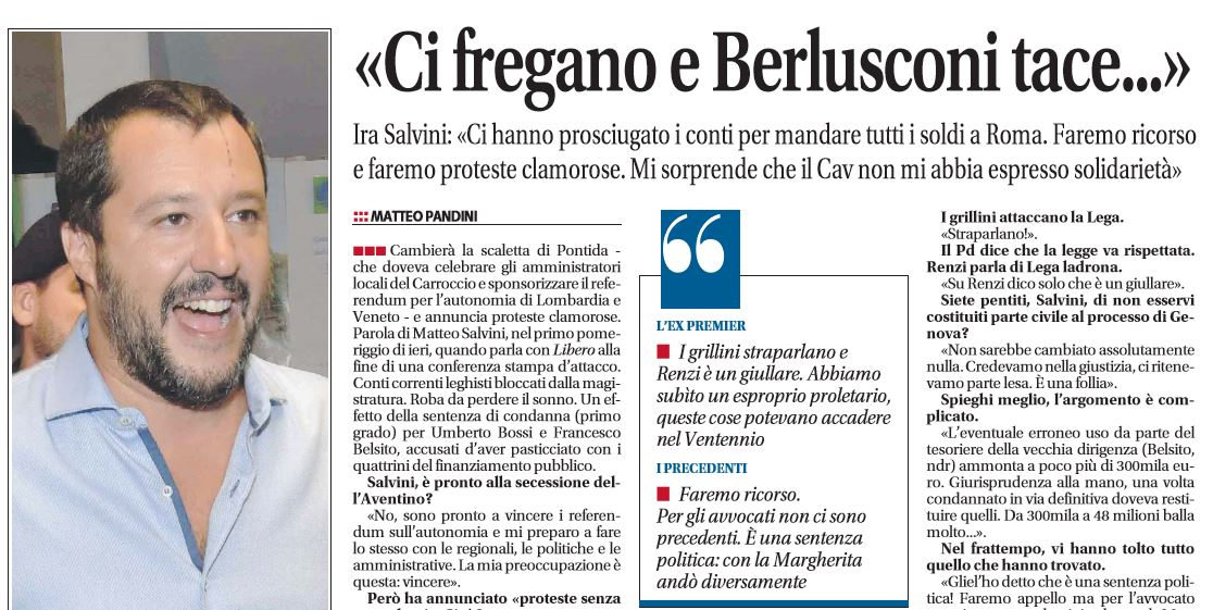 Fiuggi, Berlusconi a Di Maio: