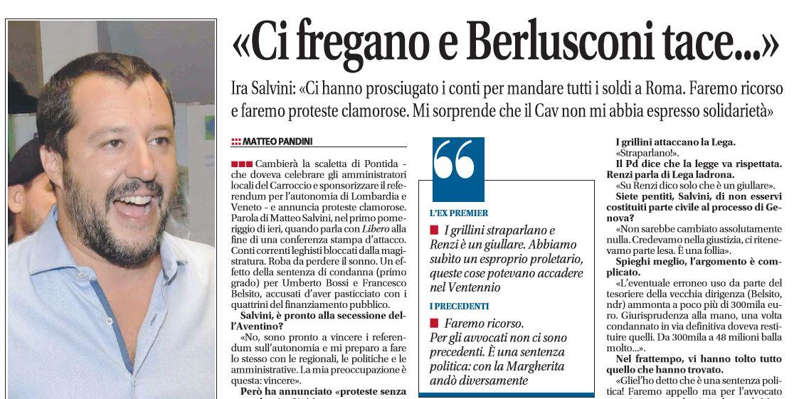 Fiuggi, Berlusconi: