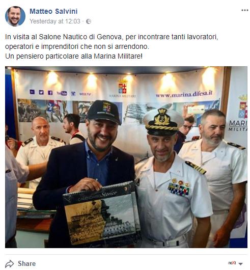 matteo salvini commissione commercio salone nautico bruxelles europarlamento - 2